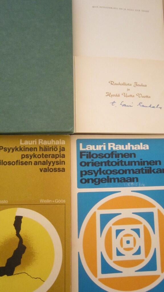 Lauri Rauhalan kirjoja