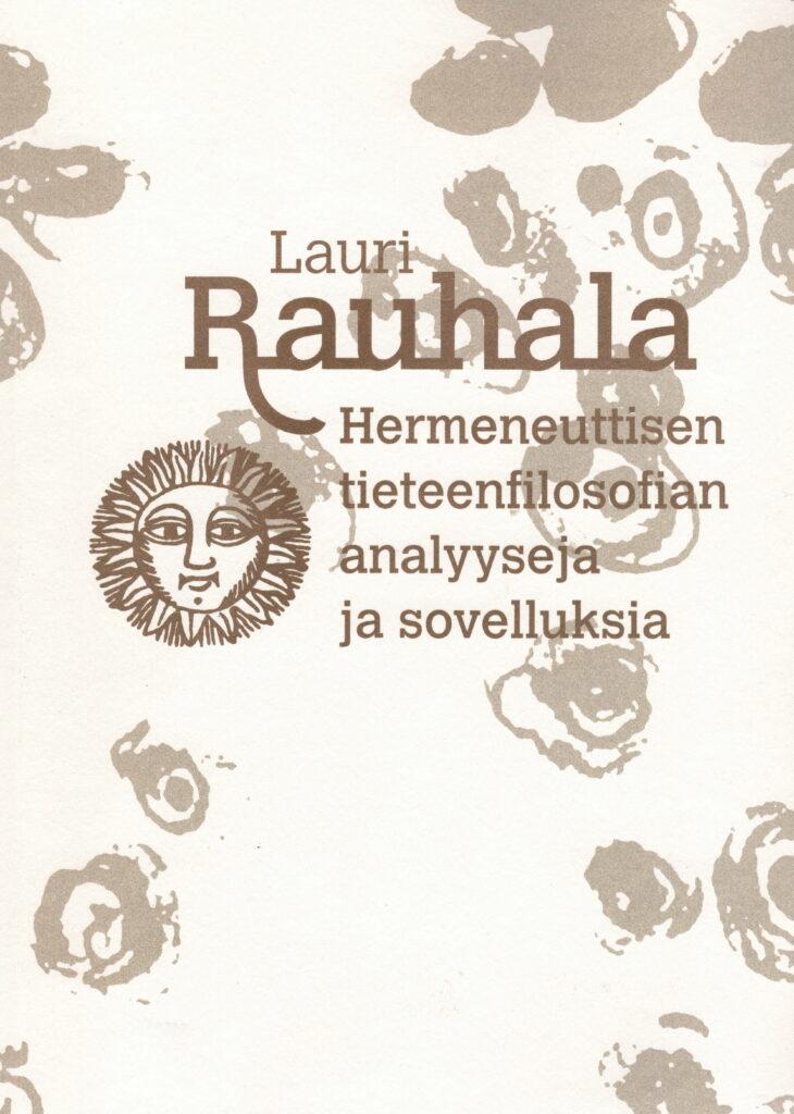 Lauri Rauhalan kirjan kansi