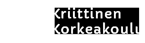 Logo - Kriittinen korkeakoulu