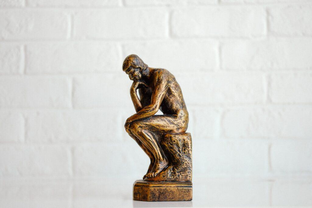 Rodinin Ajattelija -patsas. Kuva: Unsplash
